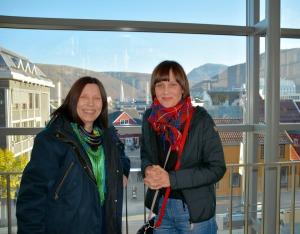 Anna Anita Guttorm og Elin Margrethe Wersland utgjør Skole-Petter Anna-duoen.