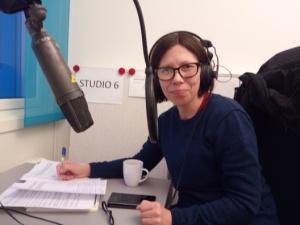 Anna Anita (bildet) og Elin Margrethe Wersland ble intervjuet av NRK Finnmark om Pocahontas debatten.